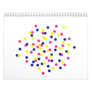 Confetti party calendar