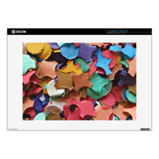 Confetti Party Carnival Colorful Paper Funny Laptop Skins