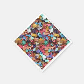 Confetti Party Carnival Colorful Paper Pieces Napkin