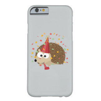 Confetti Party Hedgehog Barely There iPhone 6 Case