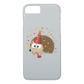 Confetti Party Hedgehog iPhone 8/7 Case