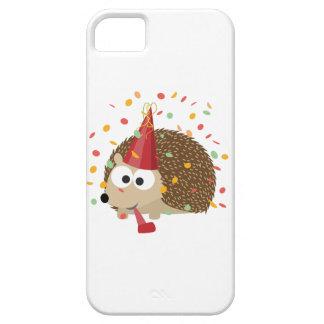 Confetti Party Hedgehog iPhone SE/5/5s Case
