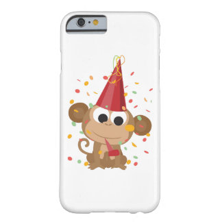 Confetti Party Monkey Barely There iPhone 6 Case