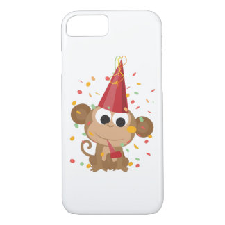 Confetti Party Monkey iPhone 8/7 Case