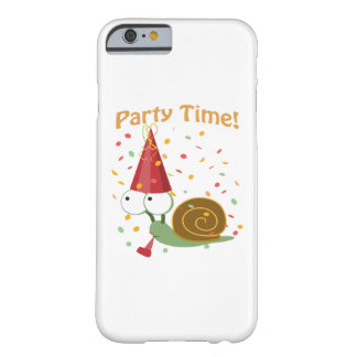 Confetti Party Time! Snail Barely There iPhone 6 Case