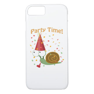 Confetti Party Time! Snail iPhone 8/7 Case