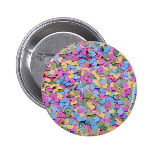 confetti pin redondo 5 cm