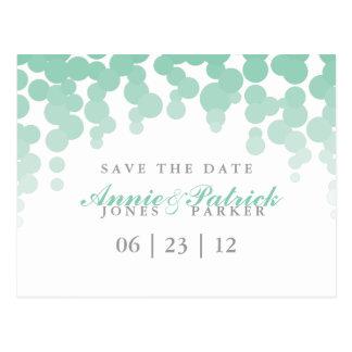 Confetti Save the Date Postcard