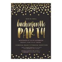 CONFETTI SPARKLE BACHELORETTE PARTY Invitation