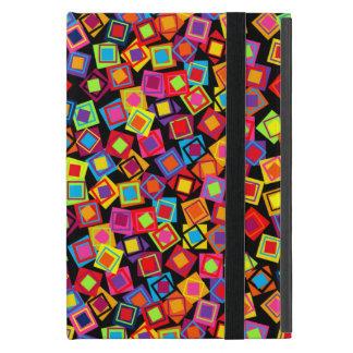 Confetti Squares iPad Mini Covers