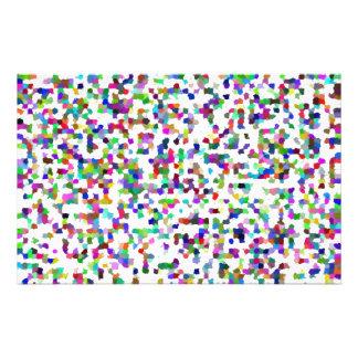 confetti stationary stationery
