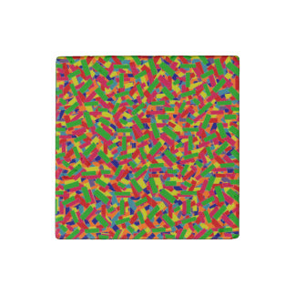 Confetti Stone Magnet