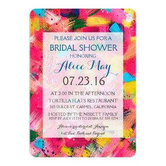 Confetti Storm Bridal Shower Invitation