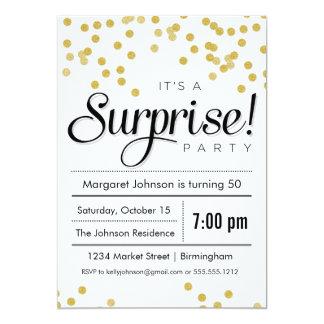 Surprise Party Invitations & Announcements | Zazzle
