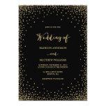 """Confetti   Wedding Invitation 5"""" X 7"""" Invitation Card"""