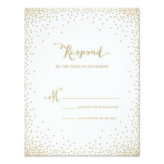 Confetti | Wedding Response Card