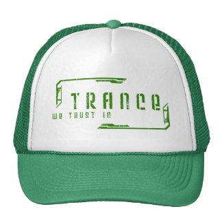 confiamos en en gorra del trance