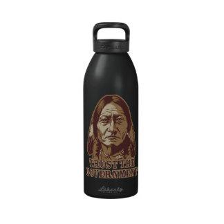 Confianza de Bull de sentada la botella de la libe Botella De Agua