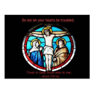 Confianza en dios postal