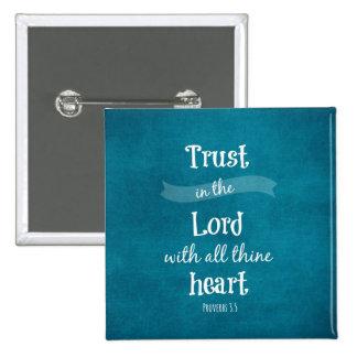 Confianza en el señor Bible Verse