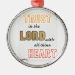 confianza en la escritura de los proverbios del se