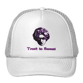 Confianza en las camisetas del Swami sudaderas co Gorras De Camionero