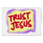 Confianza Jesús Felicitacion