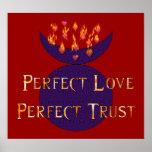 Confianza perfecta del amor perfecto poster