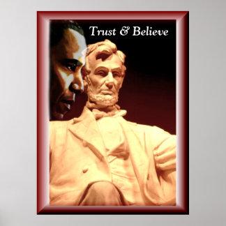 Confianza y poster de Believe_