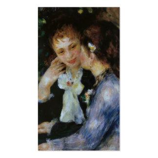 Confianzas, Pierre-Auguste Renoir Tarjetas De Visita