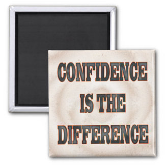Confidence 2 Inch Square Magnet