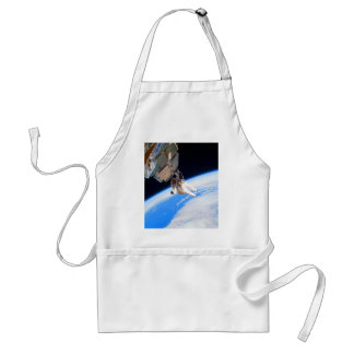 confidence and success astronaut space wall adult apron
