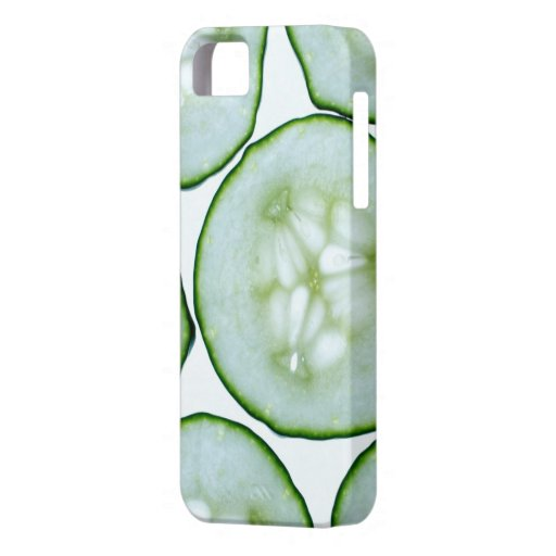 Confidence - Cool As Cucumber Slices iPhone 5 Covers