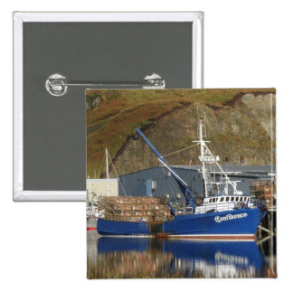 Confidence, Crab Boat in Dutch Harbor, Alaska Pinback Buttons
