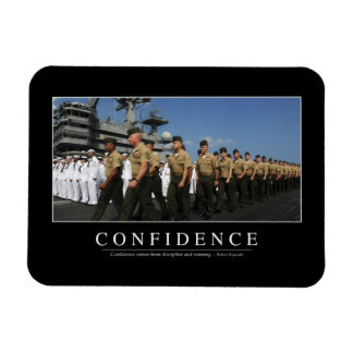 Confidence: Inspirational Quote Magnet