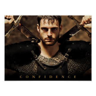 Confidence motivational poster