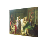 Confidence of Alexander the Great Gallery Wrapped Canvas