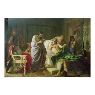 Confidence of Alexander the Great Poster
