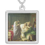 Confidence of Alexander the Great Square Pendant Necklace