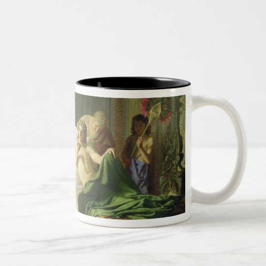 Confidence of Alexander the Great Two-Tone Coffee Mug