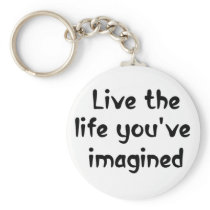 Confidence quote life sayings inspiring keychains