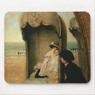 Confidences on the Beach, c.1883 Mouse Pad