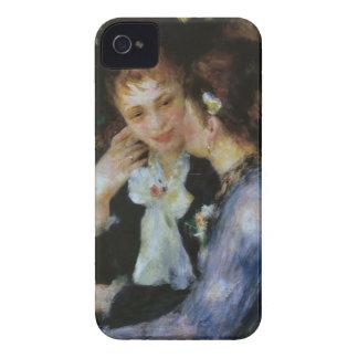 Confidences, Pierre-Auguste Renoir iPhone 4 Cover