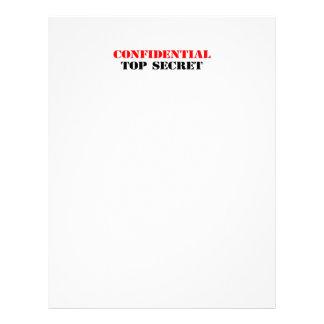 Confidencial Flyer A Todo Color