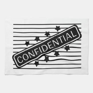 Confidencial Toallas De Mano