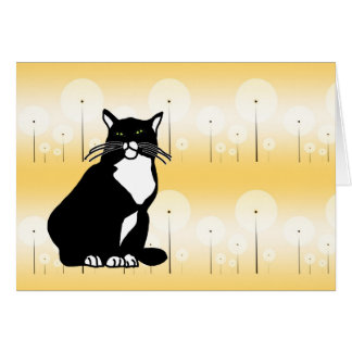 Confident Cat Greeting Cards