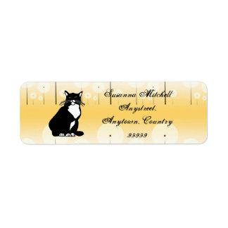 Confident Cat ID250 Label