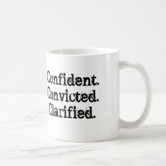 Confident.Convicted.Clarified Mug
