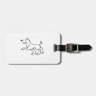 Confident Dog Tag For Luggage