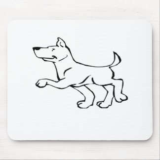 Confident Dog Mousepad